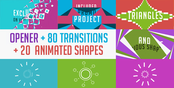 After Effects Transitions from VideoHive