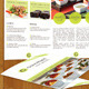 Gourmet Food Catering Menu and Business Cards  - GraphicRiver Item for Sale