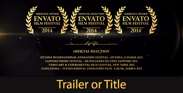 Movie Trailer After Effects Templates From Videohive