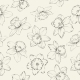 Seamless Pattern with Flowers Narcissus. - GraphicRiver Item for Sale