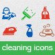 Cleaning Icons - GraphicRiver Item for Sale