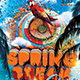 Spring Break Rave - GraphicRiver Item for Sale