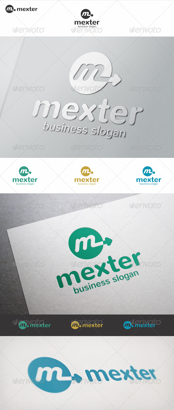 Mexter M Arrow Logo