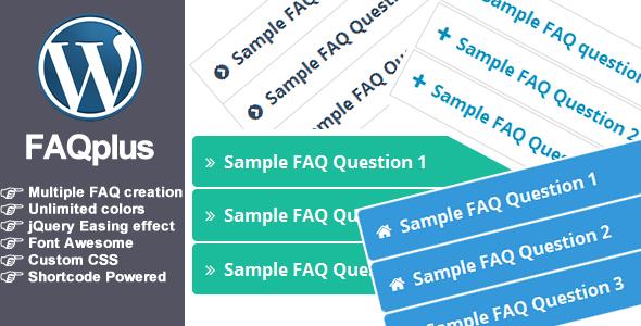 FAQPlus - WordPress FAQ Plugin Download