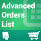 Advanced Orders List - CodeCanyon Item for Sale