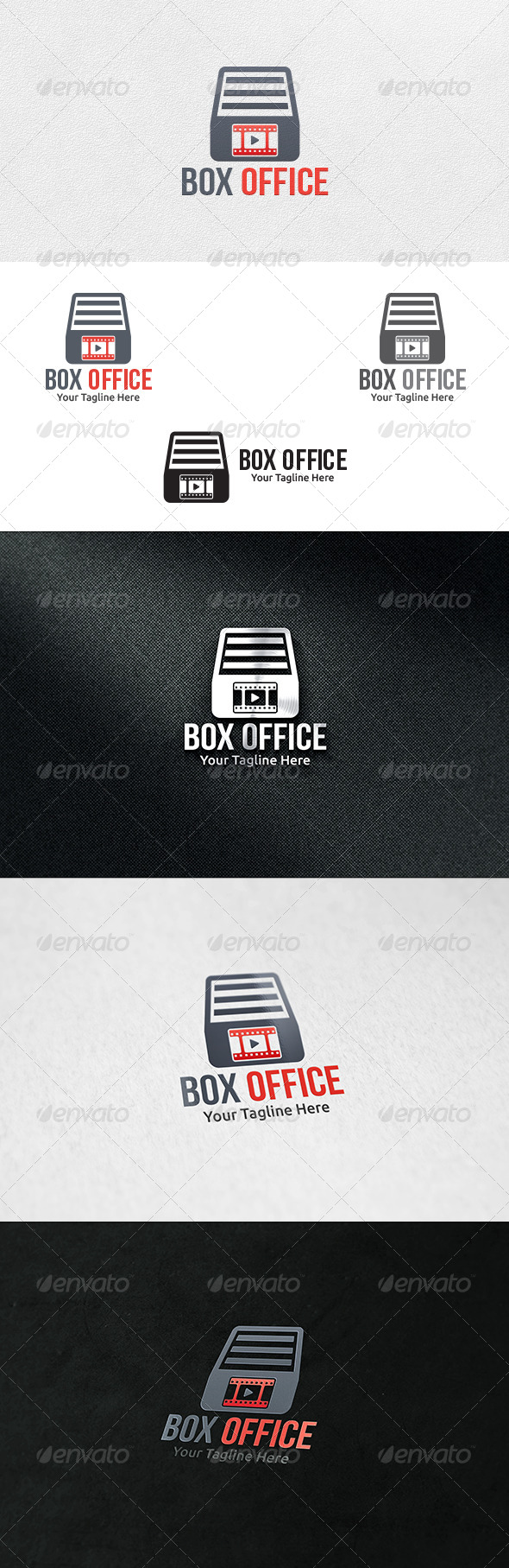 Film Box - Logo Template