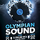 Olympian Sound Flyer Template - GraphicRiver Item for Sale