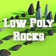 LowPoly Stones .Pack2 - 3DOcean Item for Sale
