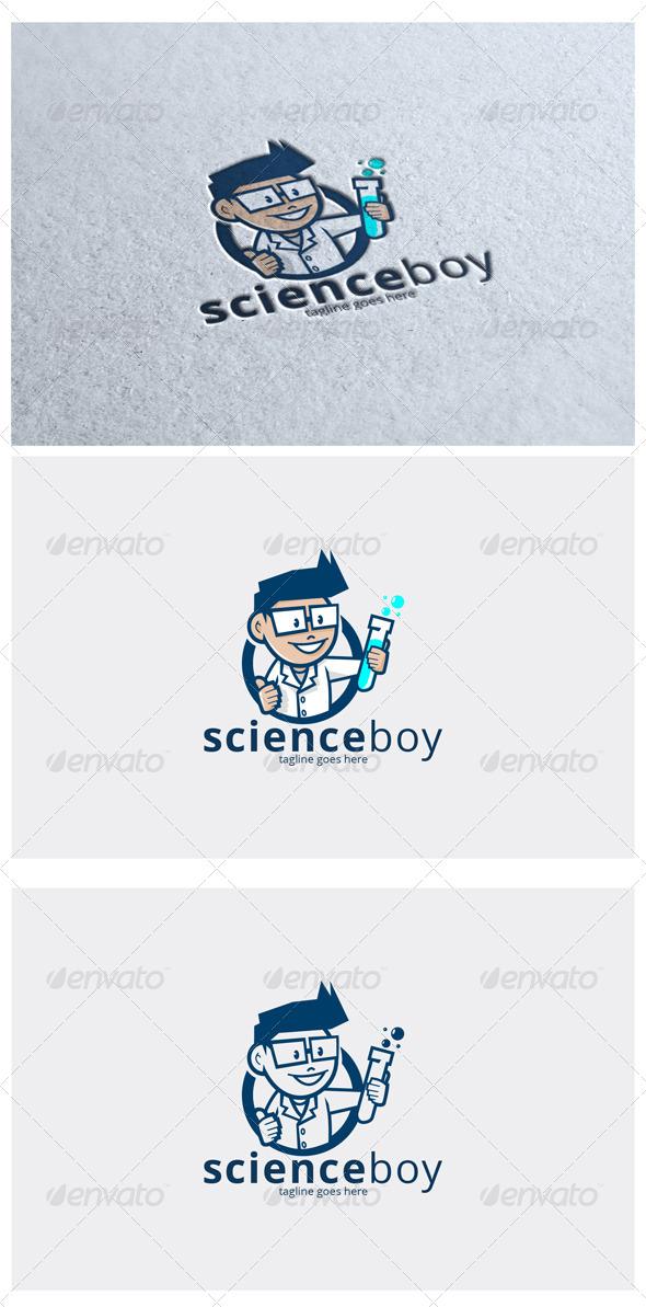Scienceboy Logo Mascot