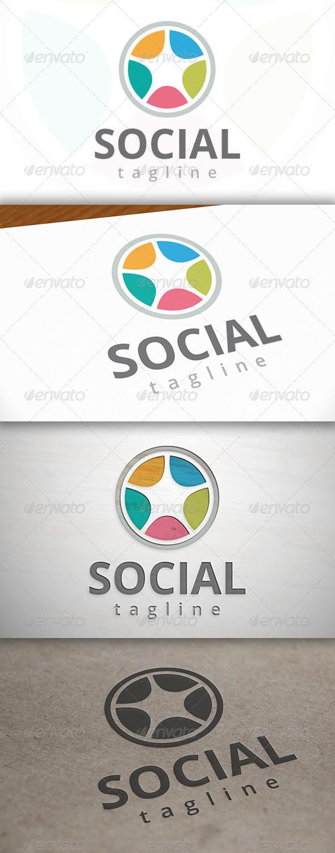 Social Wheel Logo