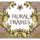 Set of Floral Frames - GraphicRiver Item for Sale