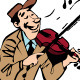 Violinist - GraphicRiver Item for Sale
