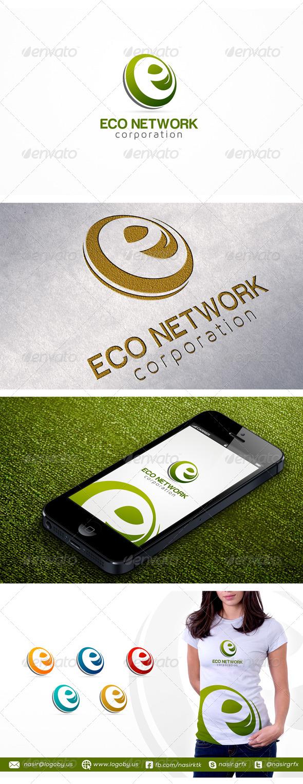 E Leaf Logo