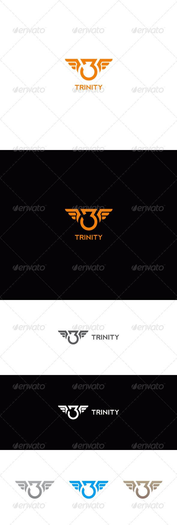 Number Three Logo   Trinity