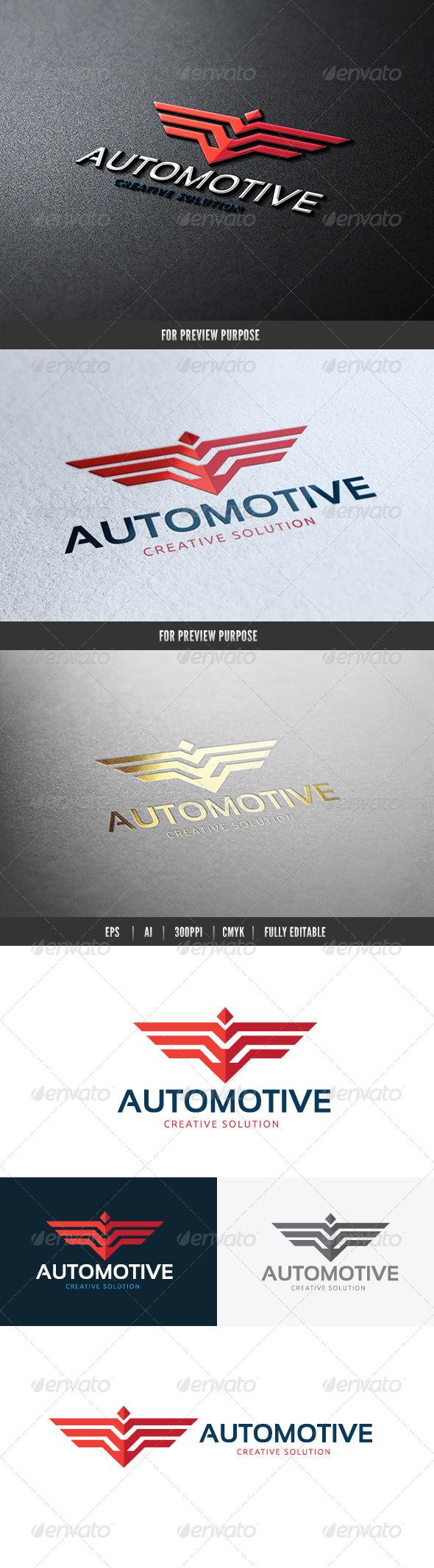 Automotive Creative Solution Logo