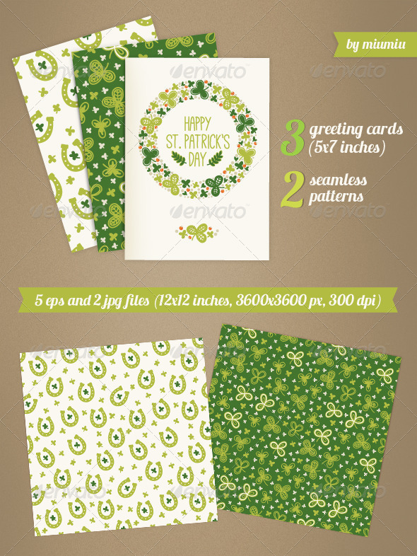Greeting Cards for St. Patrick's Day