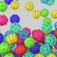Rubber Toy Balls Transition Ver2 - VideoHive Item for Sale