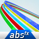 Colors Ribbons Logo Reveal - VideoHive Item for Sale