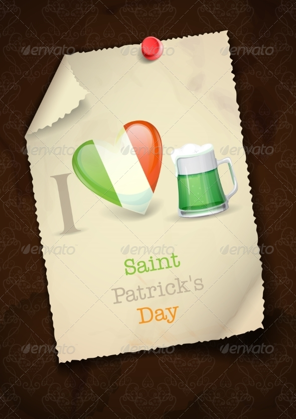 St. Patrick's Day I Love Beer