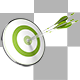 Target and Arrow - Bullseye - GraphicRiver Item for Sale