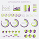 Infographics Design Elements - Vector Set  - GraphicRiver Item for Sale