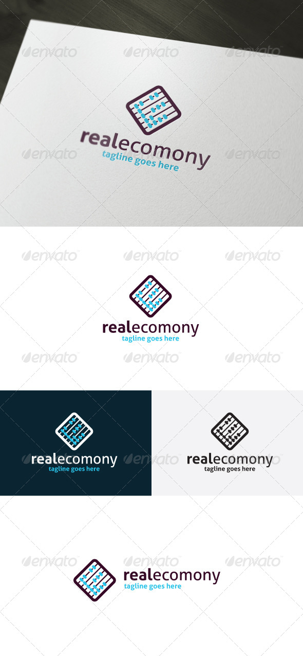 Real Economy Logo
