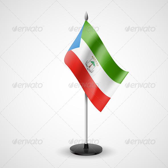 Table Flag of Equatorial Guinea