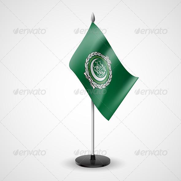 Table Flag of Arab League