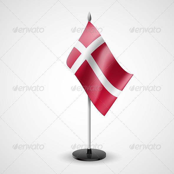 Table Flag of Denmark