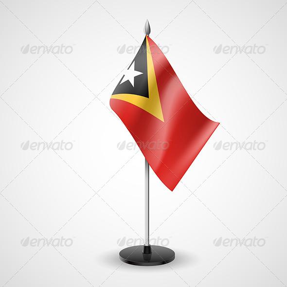 Table Flag of East Timor