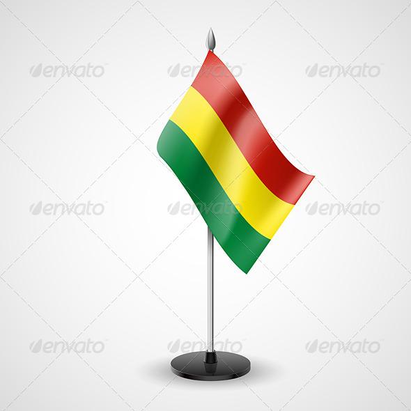 Table Flag of Bolivia
