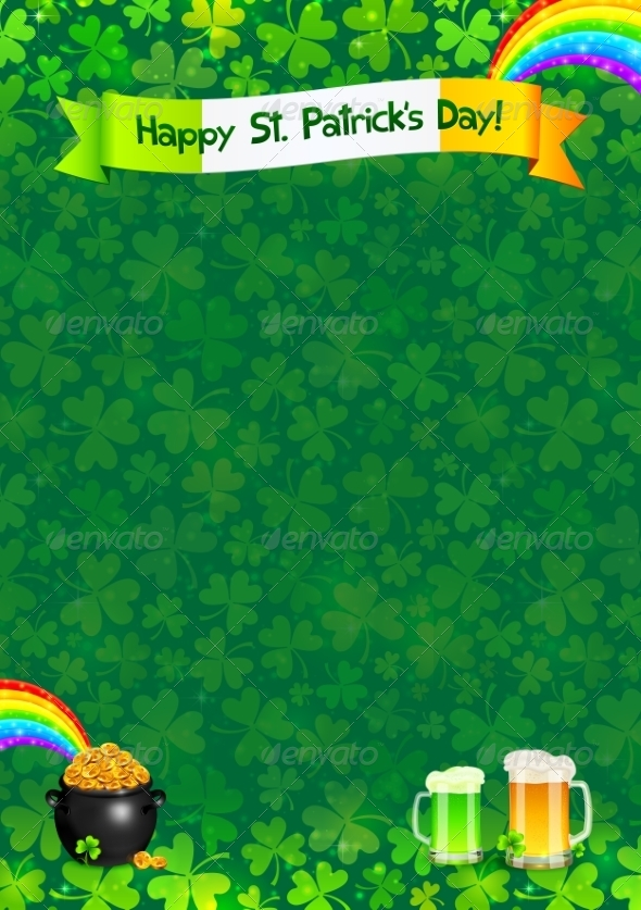 Saint Patrick's Day Poster Template