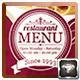 Elegant TriFold Restaurant Menu Template - GraphicRiver Item for Sale