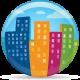 Globe City - GraphicRiver Item for Sale