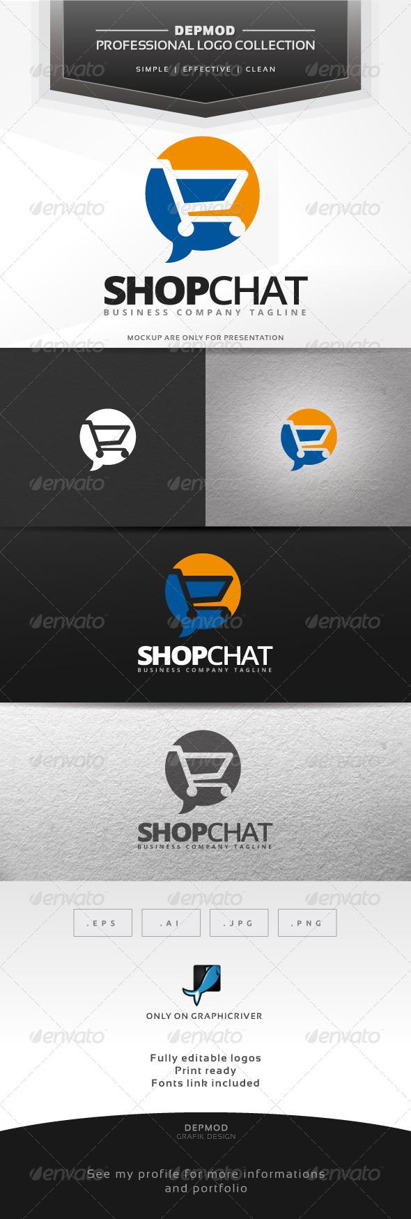 Shop Chat Logo