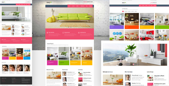 Innova - Furniture WordPress CMS Theme