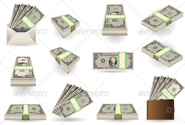 Full Set of One Dollar Banknotes