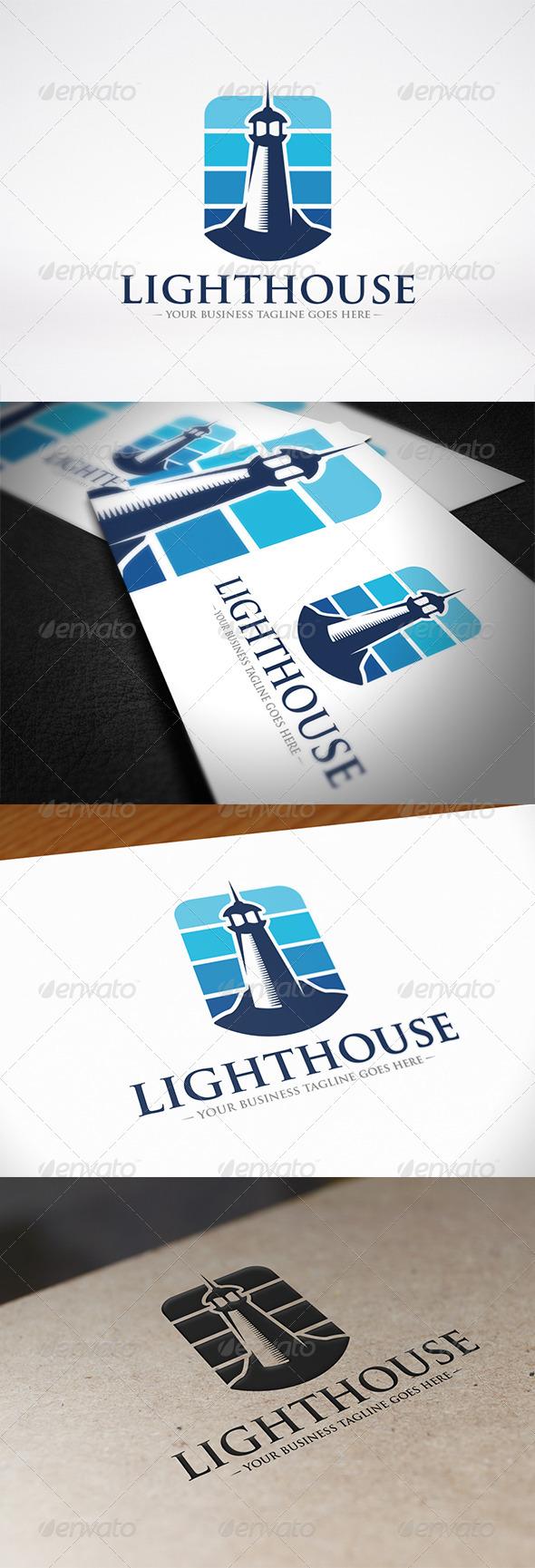 Lighthouse Logo Identity