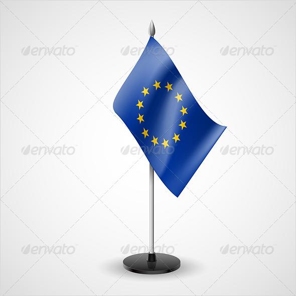 Table Flag of European Union