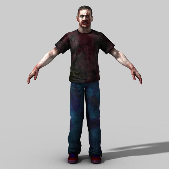 Horror CG Textures & 3D Models from 3DOcean