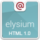 Elysium Multipurpose HTML Template - ThemeForest Item for Sale