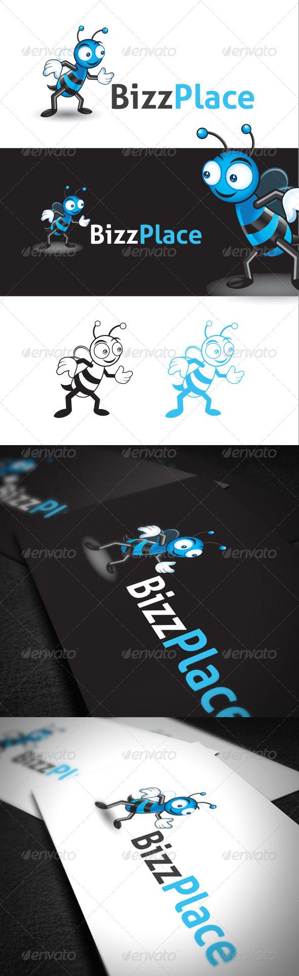 Character Design Bee in Vector Format