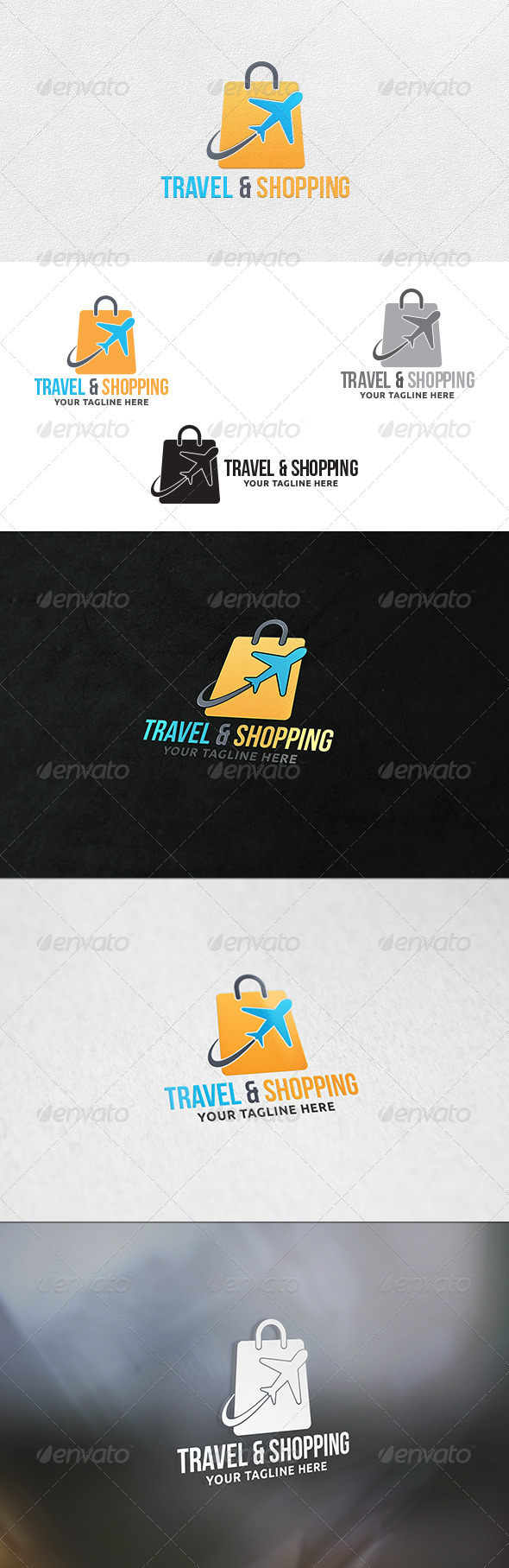 Travel and Shopping - Logo Template