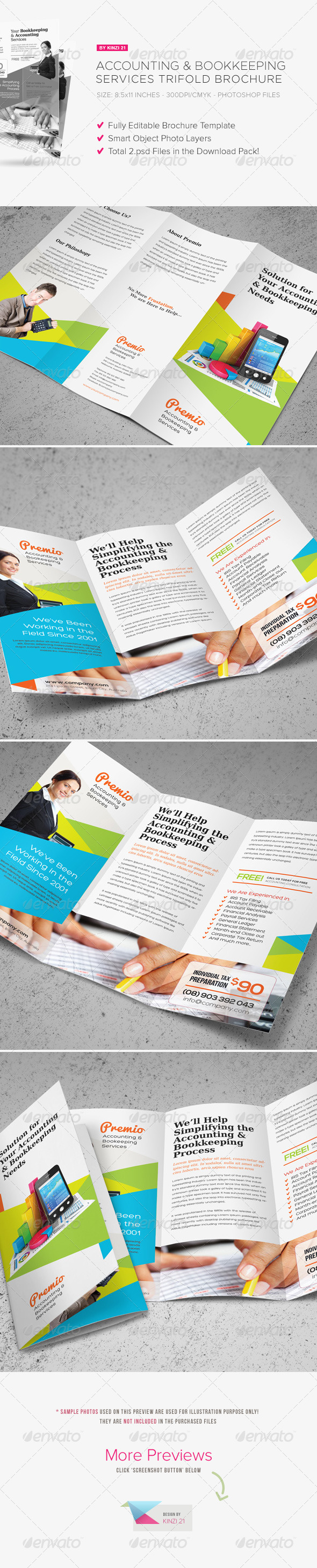 Trifold Brochure Templates from GraphicRiver (Page 9)