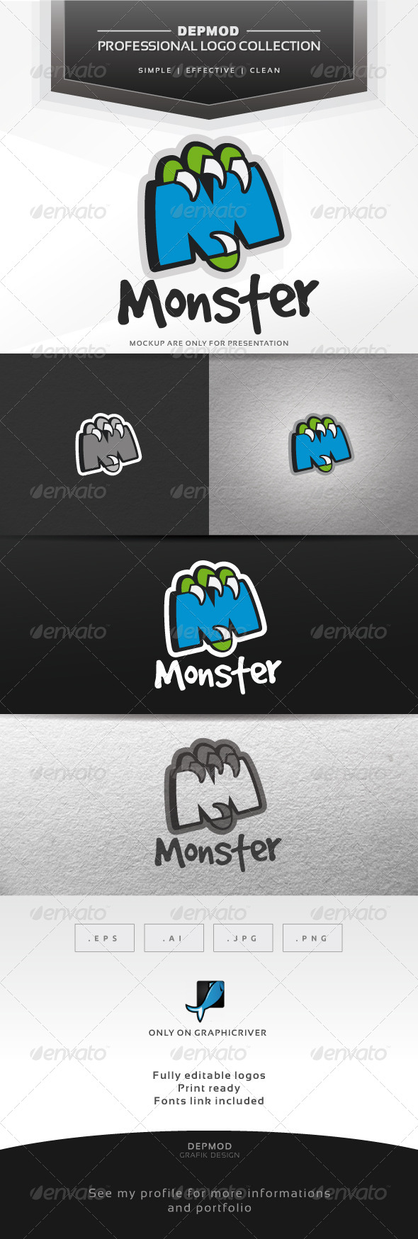 Monster Logo