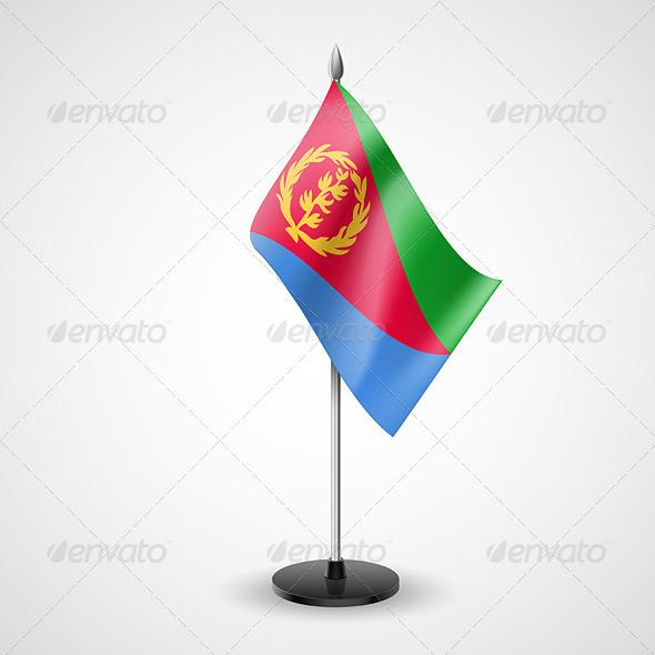 Table Flag of Eritrea