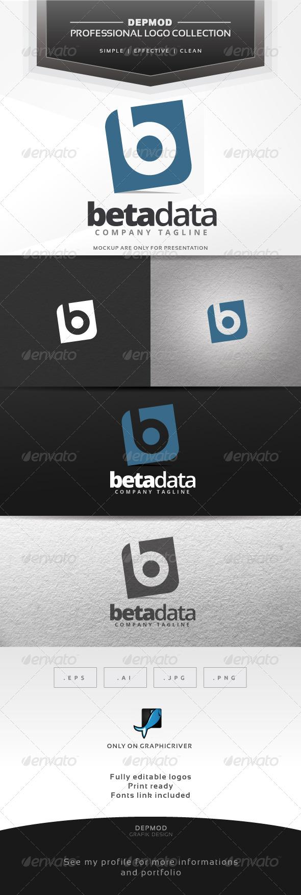 Beta Data Logo