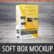 Realistic Soft Box Product Mock-Up - GraphicRiver Item for Sale
