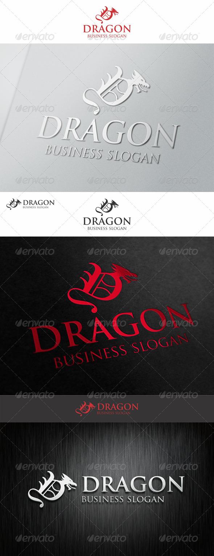 Dragon Logo Letter D