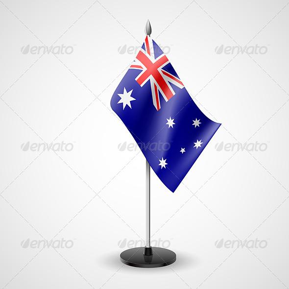 Table Flag of Australia